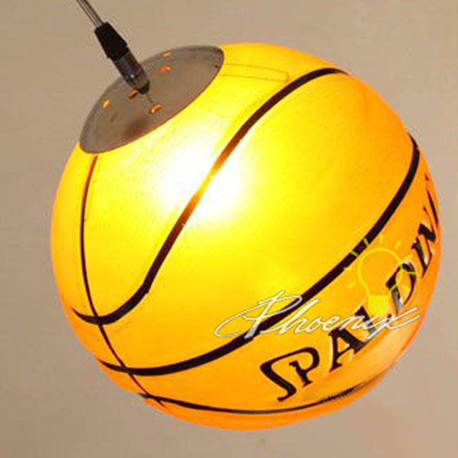 Modern Glass Basketball Pendant Lighting 7600