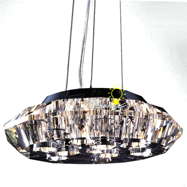 Modern FIAM Single Crystal Pendant Lighting 8007