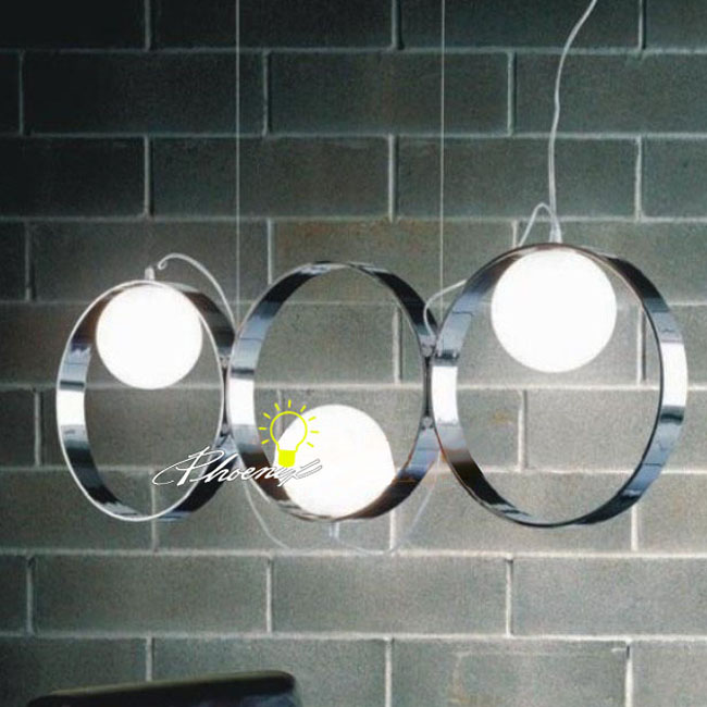 Guiko Ring and Ball Pendant Lighting 8428