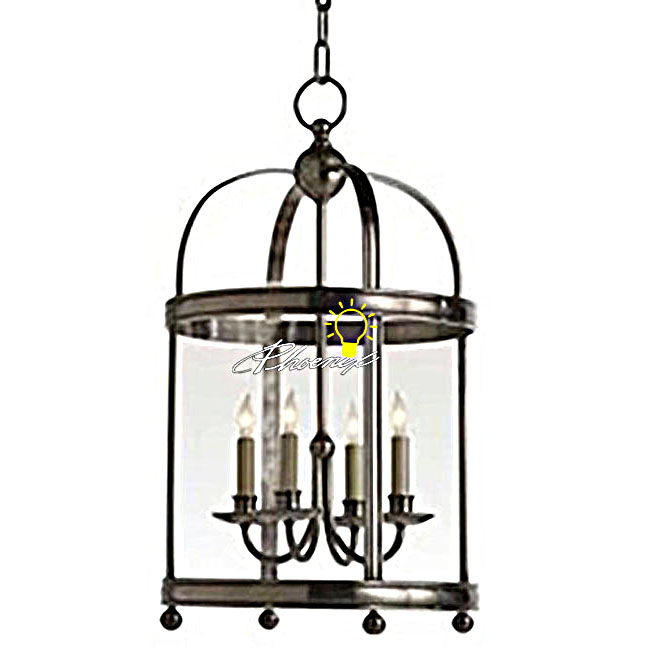 Antique Harbor Copper and Glass Pendant Lighting 8728