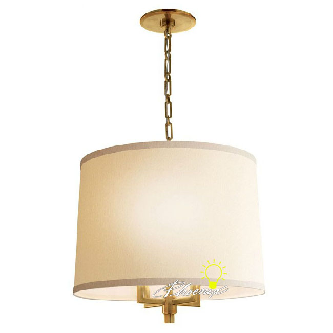 Antique Flax and Copper Pendant lighting 8781