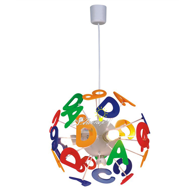Children ABC Pendant Lighting 9066