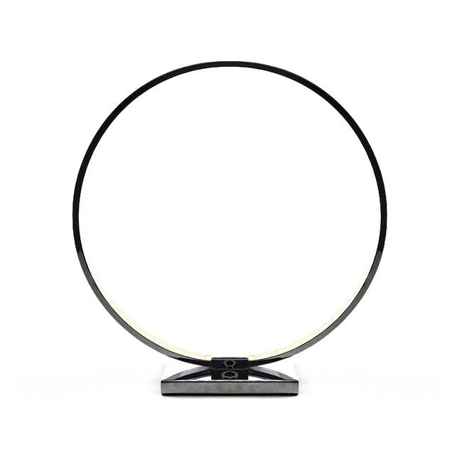 Modern Ring Acrylic Shade 11W LED Table Lamp 10098