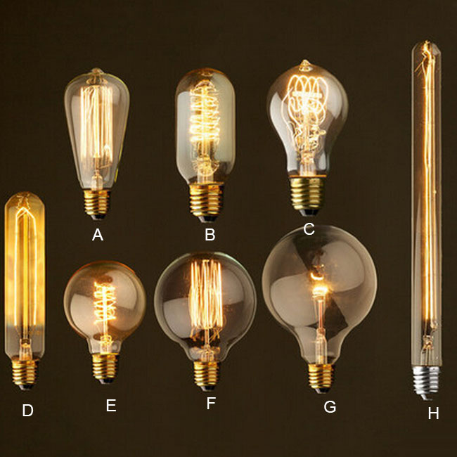 Edison Bulbs(incandescent)