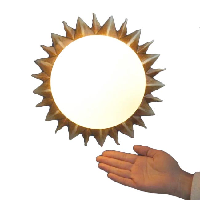Antuique Roman Sun Ceiling Lighting OR Wall Sconce 11912
