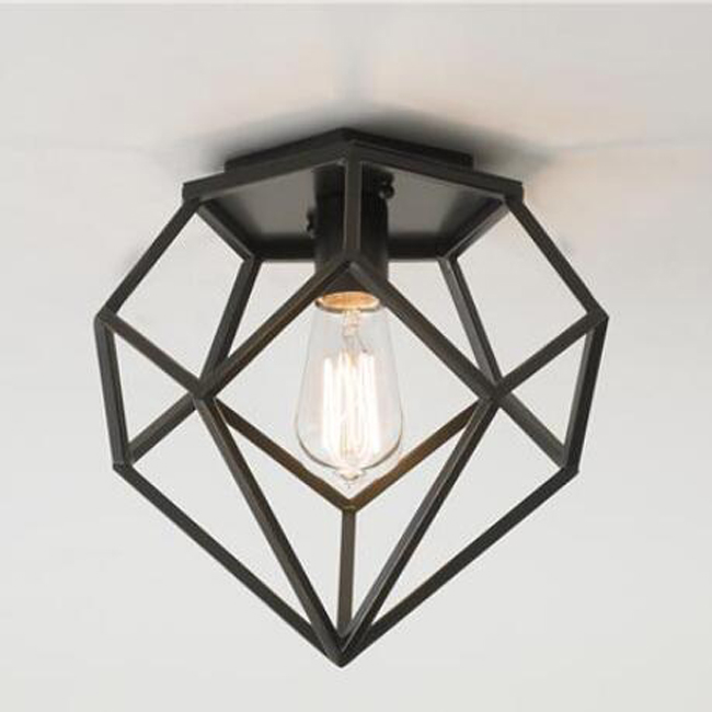 Industrial Iron Frame Ceiling Lighting 13059
