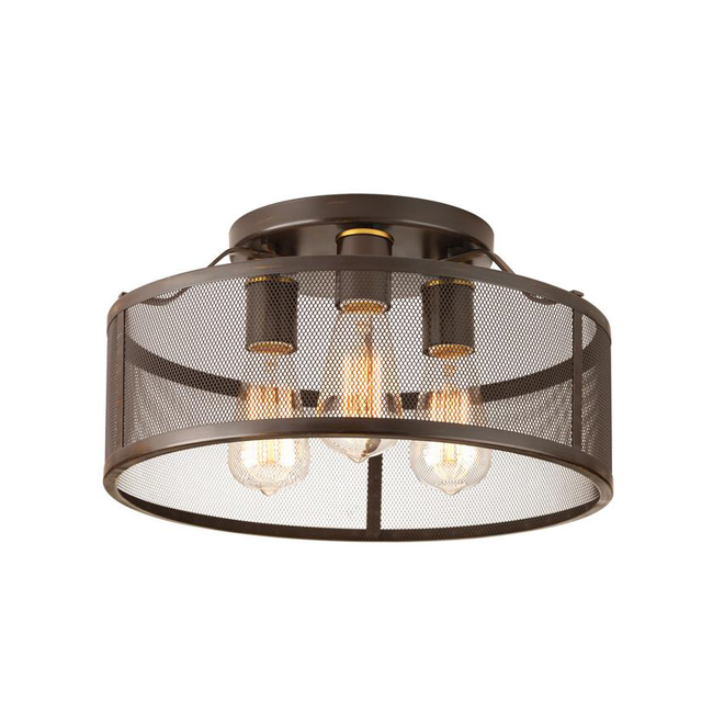 Iron Network Ceiling Lighting 14062