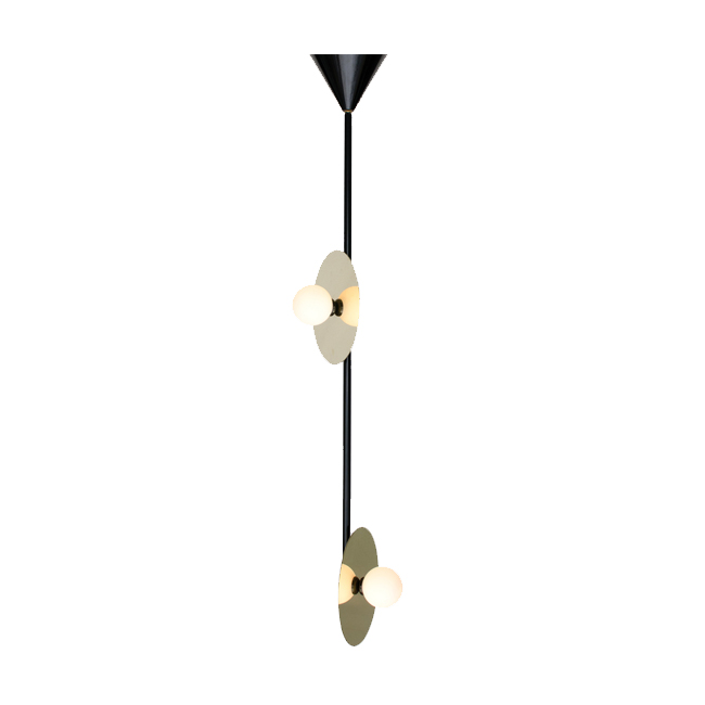 DISC AND SPHERE PENDANT / VERTICAL DISC 2 15282