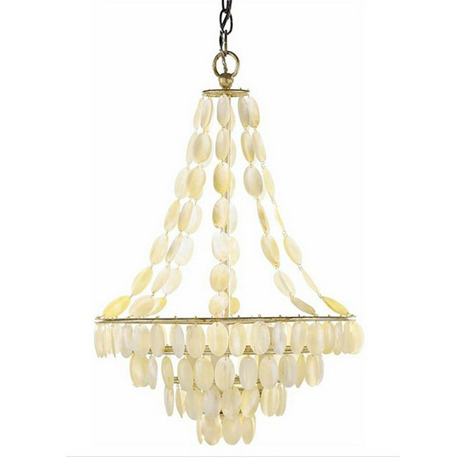 Post Modern Shell Chandelier 10341