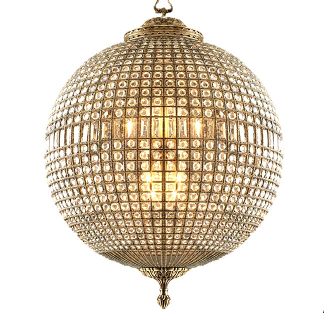 Post Modern Crystal Orb Chandelier 11143