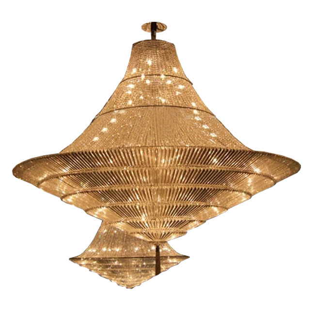 Modern Crystal Strip Chandelier 11244