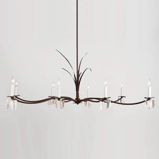 Marsh Grass and Shells Chandelier 13918