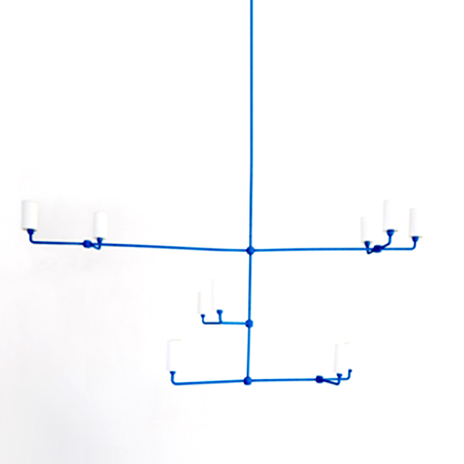3-TIERED MOBILE ROPE CHANDELIER 15186