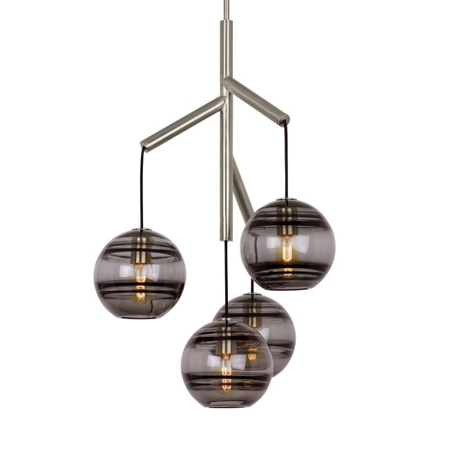 Demelza 4-Light Cluster Pendant 17241