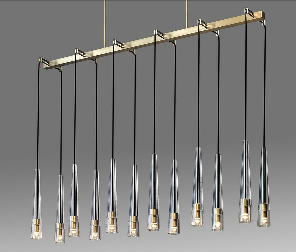 REPLICA APOLLINAIRE LINEAR CHANDELIER 17687
