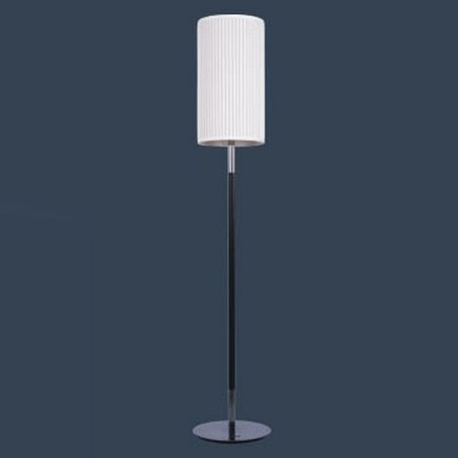 Modern Simple white Fabric Floor Lamp 9808