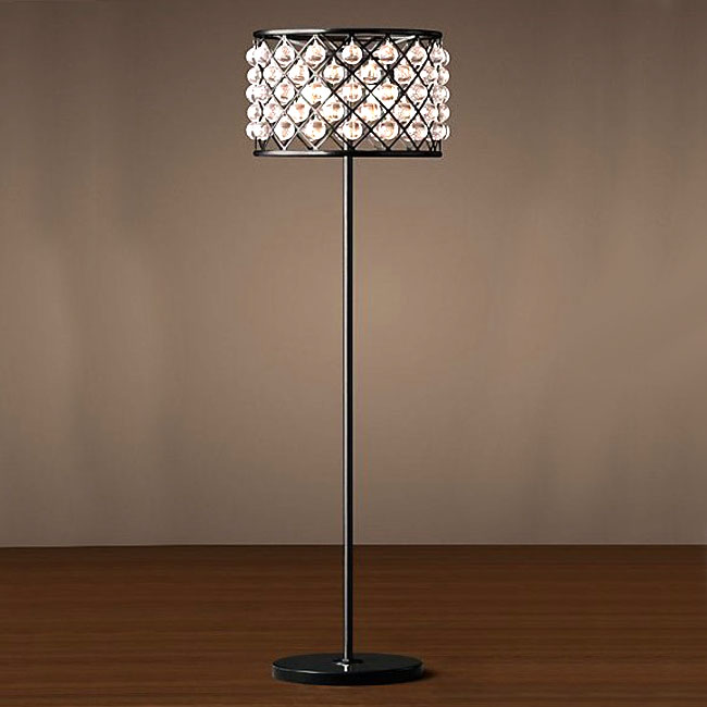 Crystal Water Drop Floor Lamp 10109