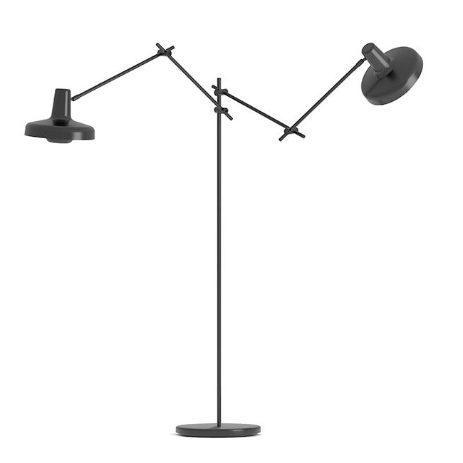 Grupa Products Arigato Double Floor Lamp 15306