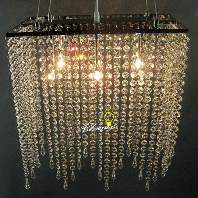 Antique Crystal and Metal Pendant Lighting 8407