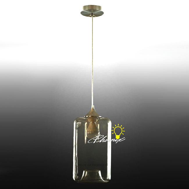 Modern Clear Glass Pendant Lighting 9036