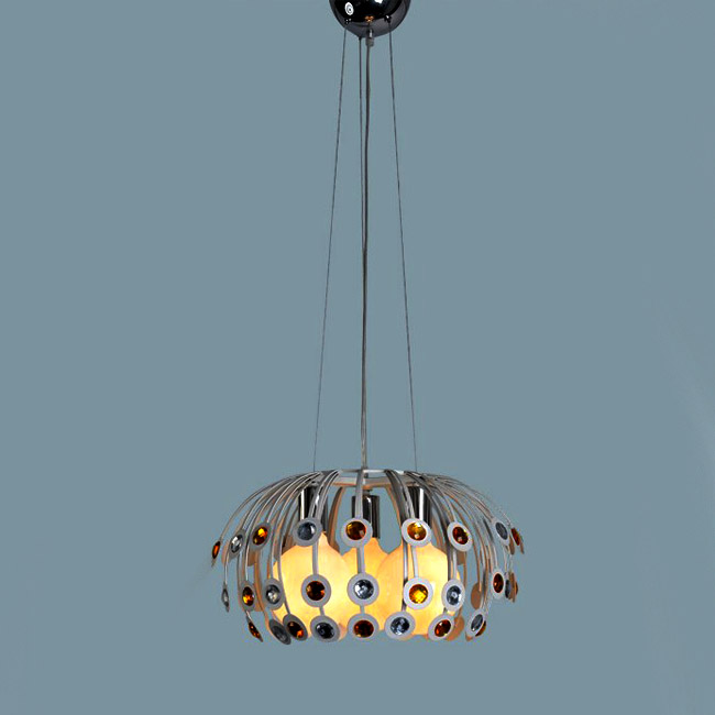 Peacock Tail Pendant Lighting 9123
