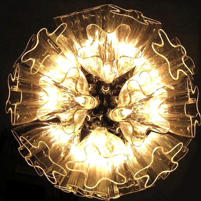 Modern Glass Art Pendant Lighting 9364
