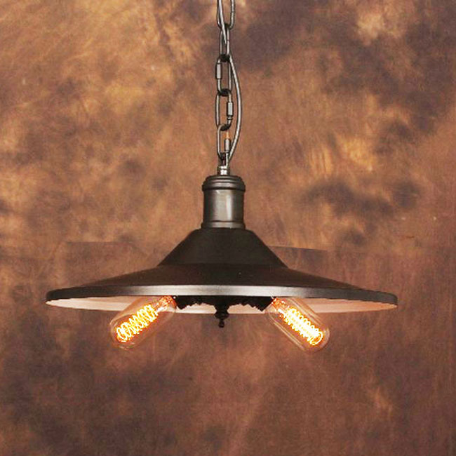 LOFT Country White and Black Stock Pendant Lighting 9948