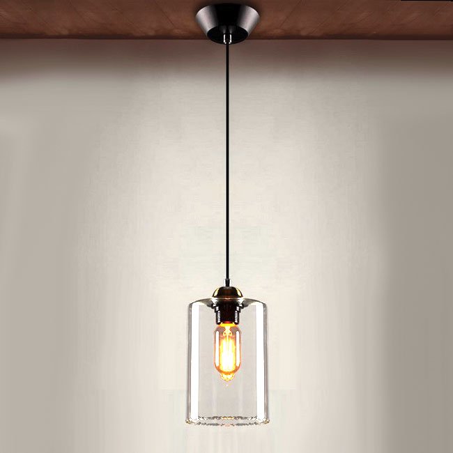 Northic  Country Clear Glass Pendant Lighting 10365