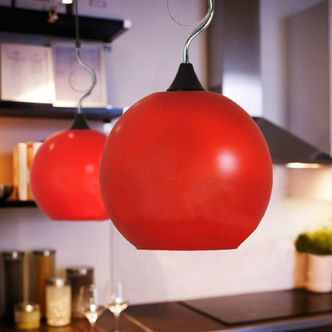Modern Matte Glass Jar Pendant Lighting 10493