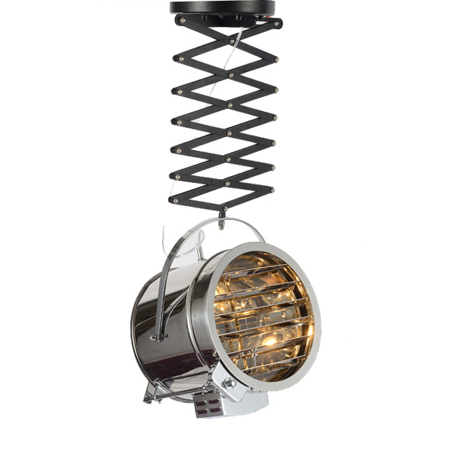 Modern Industrial Searchlight Pendant Lighting 10668