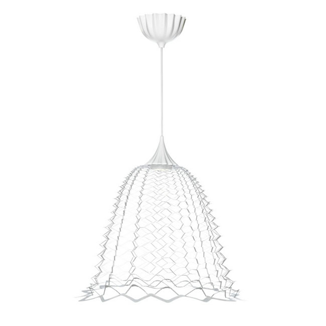 Modern Ikea Plastic Pendant Lighting in white 10693