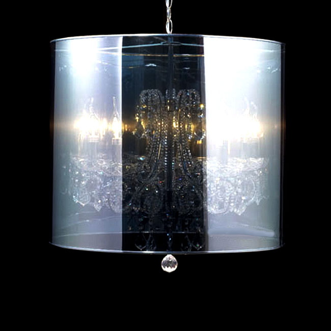Modern PP Board and Crystal Pendant Lighting 10840
