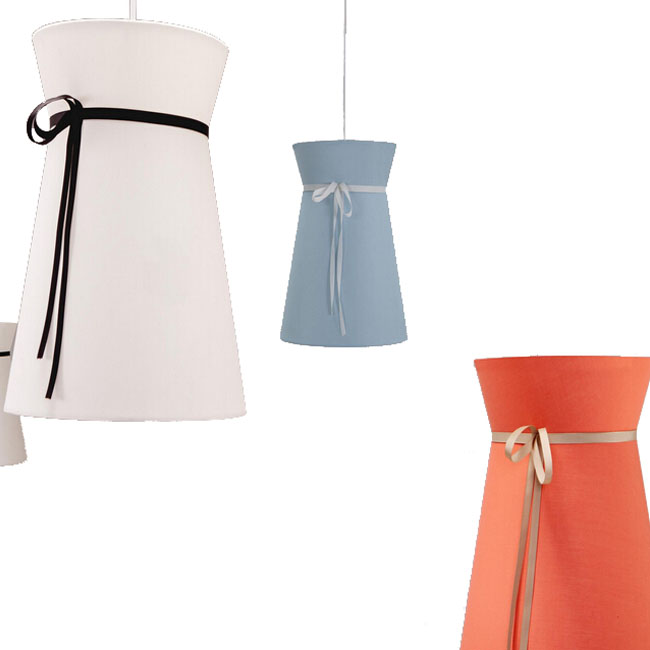 Modern Country Fabric Shade Pendant Lighting 10926