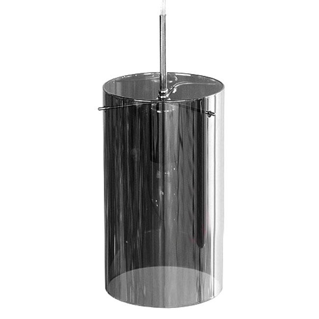 Modern 4 Clear Glass Cylinders Pendant Lighting 10970