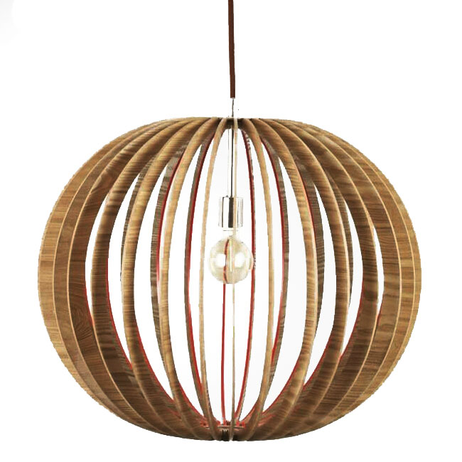 Modern Wood Rings Pendant Lighting 11237