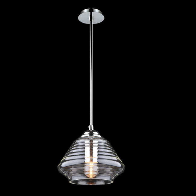 Modern Sunny Clear Blown Glass Pendant lighting 11268