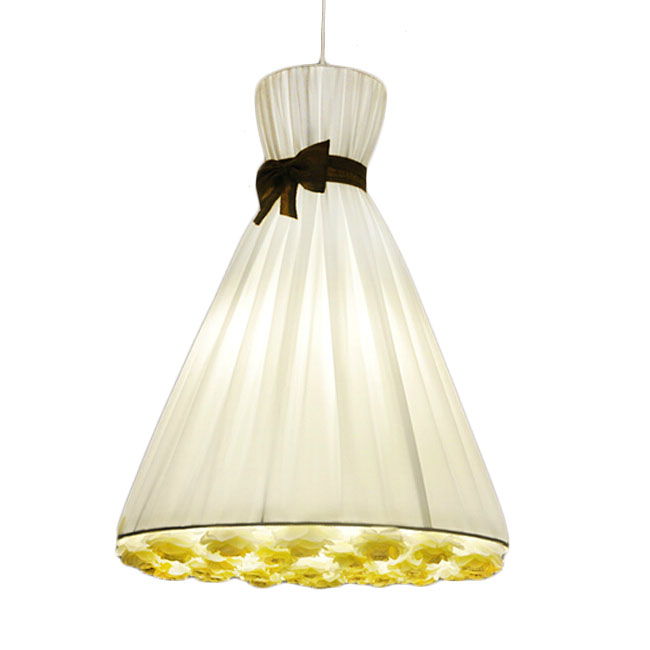 Princess White Rose Pendant Lighting 11361