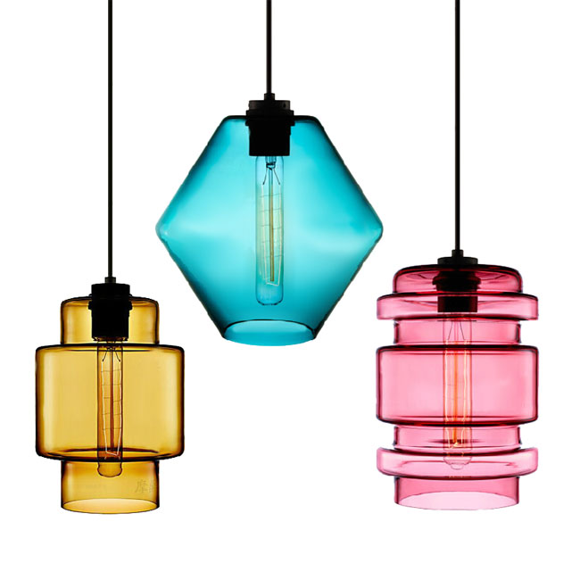 Modern Little Flesh Crystal Pendant Lighting 11468