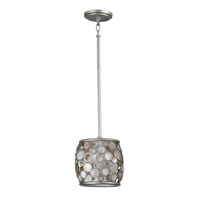 Modern Little Metal Ring and Shell Pendant Lighting 11579