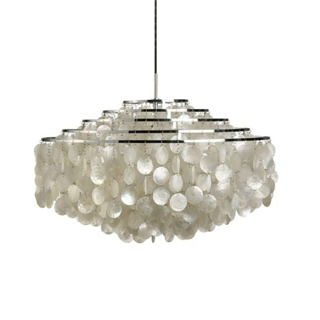 Modern Shell Pendant Lighting 11594