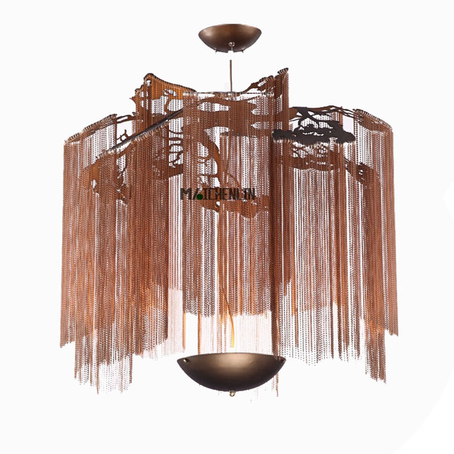 Modern Industrial Chain Pendant Lighting 11613
