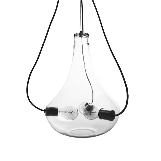PHX North Country Clear Glass Shade 3 lights Pendant Lighting 11