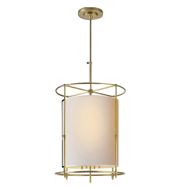 Modern Copper and Flax Shade Pendant Lighting 11705