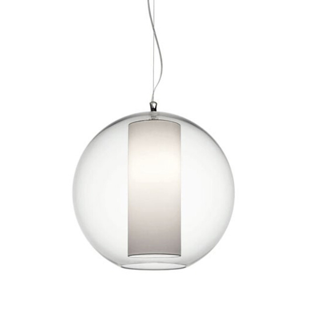 Modern 2 Layers Orb Glass Pendant Lighting 11725