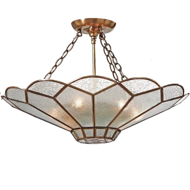 Modern Copper and Matte Glass Shade Pendant Lighting 11984