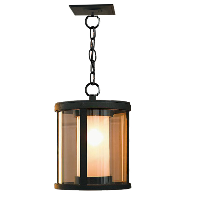 2 Layes Glass And Heavy Metal Pendant Lighting 12303