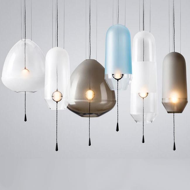 Modern Matte Glass Pendant Lighting 12362