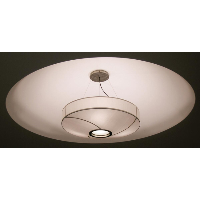 Louis Round Flax Shade Pendant Lighting 13043
