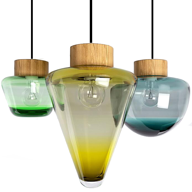 Skog Blown Glass Pendant Lighting 13995