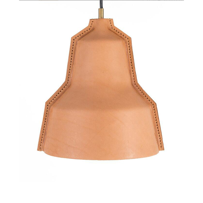 LLOYD - LEATHER LAMPSHADE Pendant Lighting 14001